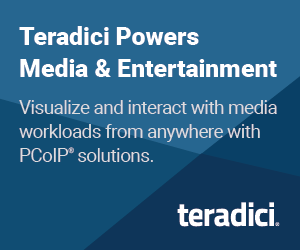 Teradici Powers Media and Entertainment