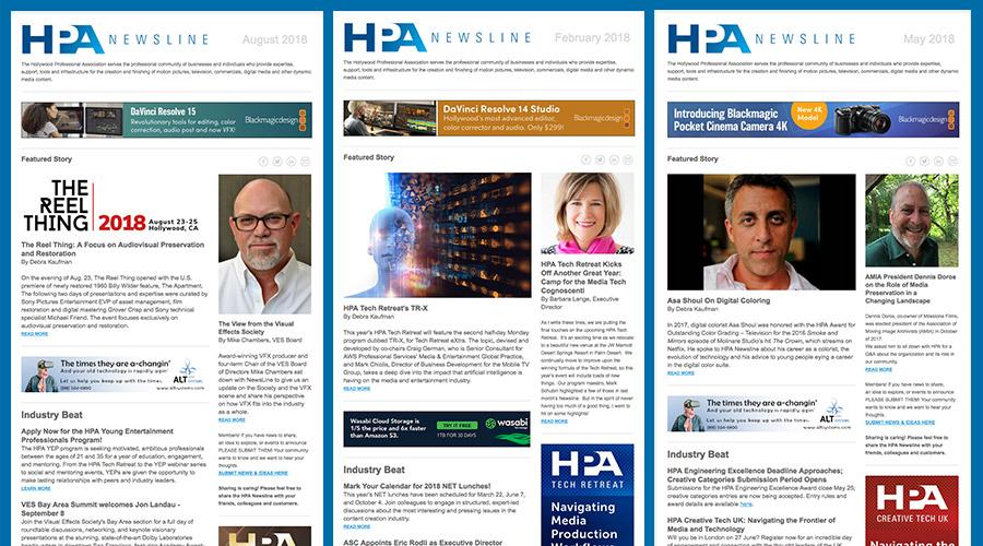 HPA Newsline Sponsorship