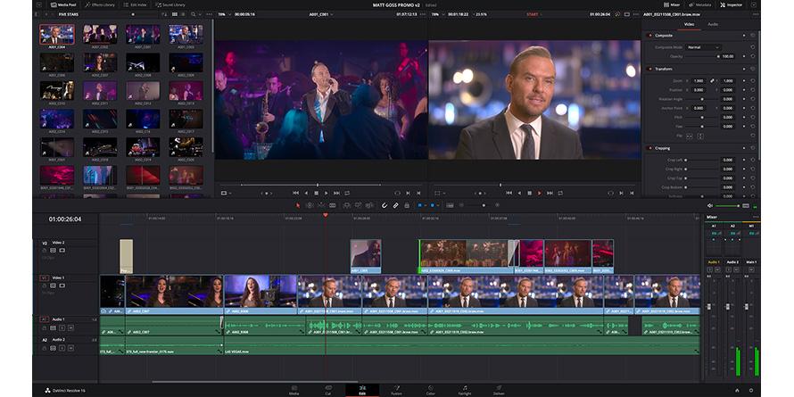 Blackmagic Design Announces Davinci Resolve 16 1 Hpa Hollywood Professional Association